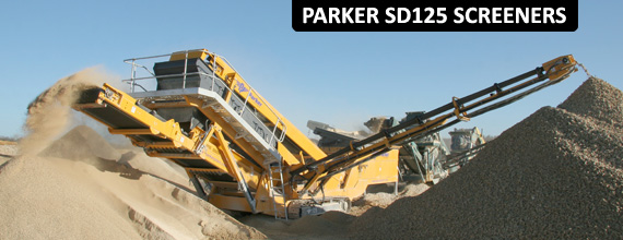 Parker SD125 Track Incline Screener