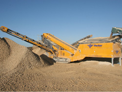Parker SD125 Incline Screener